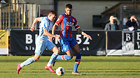 Max Thompson of Burnley in action as Jay Rich-Baghuelou of Crystal Palace looks on during Crystal Palace Under-23 vs Burnley Under-23, Premier League Cup Football at Champion Hill Stadium on 6th February 2020