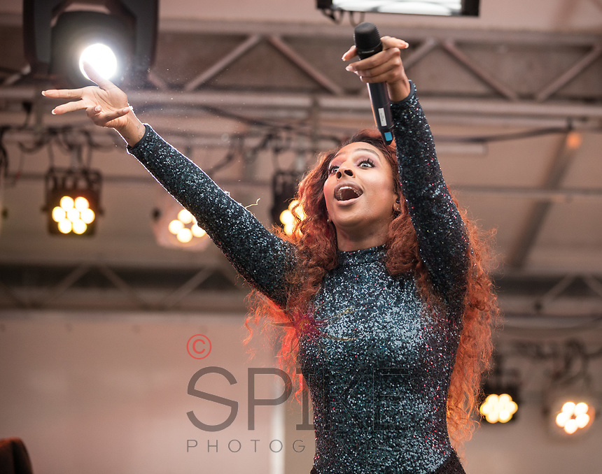 Party in the Square Retford with Alexandra Burke