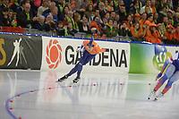 SPEEDSKATING: HEERENVEEN: 11-01-2020, IJsstadion Thialf, European Championship distances, 5000m Men, Jorrit Bergsma (NED), ©foto Martin de Jong