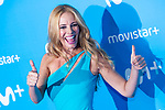 Paula Vazquez attends to blue carpet of presentation of new schedule of Movistar+ at Queen Sofia Museum in Madrid, Spain. September 12, 2018. (ALTERPHOTOS/Borja B.Hojas)