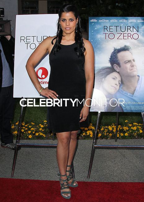 """HOLLYWOOD, LOS ANGELES, CA, USA - MAY 01: Marisol Ramierez at the Los Angeles Premiere Of Lifetime Television's """"Return To Zero"""" held at Paramount Studios on May 1, 2014 in Hollywood, Los Angeles, California, United States. (Photo by Xavier Collin/Celebrity Monitor)"""