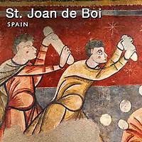 Photos of St Joan de Boi Romanesque Frescoes. Spain