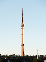 Fernsehturm in Pyongyang, Nordkorea, Asien<br /> TV-Tower in Pyongyang, North Korea, Asia