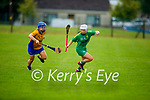 Action from Kerry v Clare in the Munster Junior Camogie final