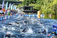 10km Women <br /> Glasgow 09/08/2018<br /> Open Water Swimming <br /> Loch Lomond and The Trossachs National Park <br /> LEN European Aquatics Championships 2018 <br /> European Championships 2018 <br /> Photo Andrea Staccioli /Deepbluemedia /Insidefoto