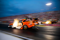 Aug 30, 2019; Clermont, IN, USA; NHRA funny car driver Jonnie Lindberg during qualifying for the US Nationals at Lucas Oil Raceway. Mandatory Credit: Mark J. Rebilas-USA TODAY Sports