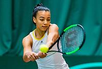 Wateringen, The Netherlands, March 16, 2018,  De Rhijenhof , NOJK 14/18 years, Nat. Junior Tennis Champ. Warda Ait El Bachir (NED)<br /> Photo: www.tennisimages.com/Henk Koster