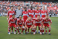 Chicago Fire starting lineup. DC United defeated the Chicago Fire 3-1, at RFK Stadium in Washington DC, Saturday June 16, 2007.