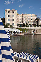 Europe/France/Provence-Alpes-Côte d'Azur/06/Alpes-Maritimes/Antibes/Juan-les-Pins: Hôtel Belle Rives- l'Hôtel et sa plage privée