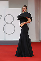 """VENICE, ITALY - SEPTEMBER 10: Francesca Sofia Novello and Lorenzo Riccardi  on the red carpet for the movie """"Un Autre Monde"""" during the 78th Venice International Film Festival on September 10, 2021 in Venice, Italy.<br /> CAP/GOL<br /> ©GOL/Capital Pictures"""