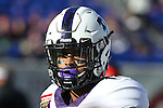 December 30, 2016: TCU wide receiver Jaelan Austin (15) during pregame of the Autozone Liberty Bowl Georgia Bulldogs vs TCU Horned Frogs at Liberty Bowl Memorial Stadium in Memphis, Tennessee. ©Justin Manning/Eclipse Sportswire/Cal Sport Media