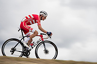 Niklas Eg (DEN/Trek-Segafredo)<br /> <br /> Men's Elite Road Race from Imola to Imola (258km)<br /> <br /> 87th UCI Road World Championships 2020 - ITT (WC)<br /> <br /> ©kramon
