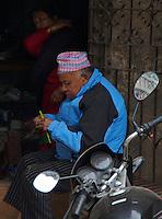 Thamel Area Kathmandu Nepal