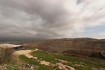 Judea, Gush Etzion. A view from Kibbutz Rosh Tzurim founded in 1969