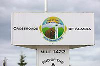 signs, Delta Junction, Alaska