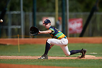 Ryan Lobus during the WWBA World Championship at the Roger Dean Complex on October 20, 2018 in Jupiter, Florida.  Ryan Lobus is a right handed pitcher from Woodstock, Georgia who attends Etowah High School.  (Mike Janes/Four Seam Images)