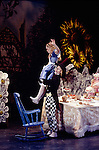 Greg Horsman as The Mad Hatter and Marta Barahona as Alice in Derek Deane's production of Alice In Wonderland for English National Ballet