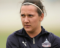 Lisa De Vanna of the Washington Freedom during a WPS pre season match against Sky Blue F.C.h at Maryland Soccerplex,in Boyd's, Maryland on March 14 2009. Sky Blue won the match 1-0