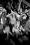 Bay City Rollers pop group boy band girl teen fans teenagers at concert Newcastle UK 1970s.Newcastle UK 1970s.