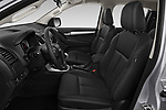 Front seat view of 2019 Isuzu D-Max LSX-4wd-crew-cab 5 Door Pick-up Front Seat  car photos