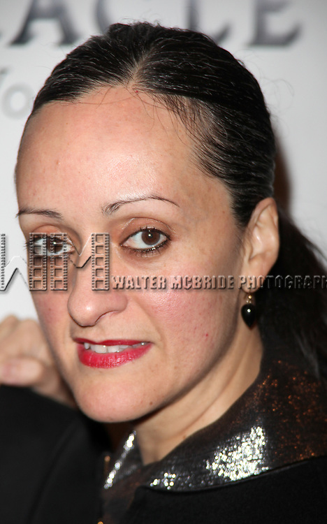 """Isabel Toledo attending the Broadway Opening Night Performance of """"THE MIRACLE WORKER"""" at Circle in the Square Theatre in New York City. March 3, 2010"""