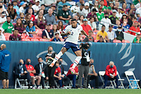 DENVER, CO - JUNE 6: DeAndre Yedlin #2 of the United States during a game between Mexico and USMNT at Mile High on June 6, 2021 in Denver, Colorado.
