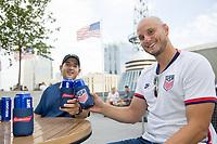 NASHVILLE, TN - SEPTEMBER 4: U.S. Soccer X Budweiser Kickoff Party at Assembly Food Hall on September 4, 2021 in Nashville, Tennessee.