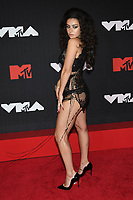 NEW YORK, NY- SEPTEMBER 12: Charli XCX at the 2021 MTV Video Music Awards at Barclays Center on September 12, 2021 in Brooklyn,  New York City. <br /> CAP/MPI/JP<br /> ©JP/MPI/Capital Pictures