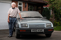 BNPS.co.uk (01202 558833)<br /> Pic: ZacharyCulpin/BNPS<br /> <br /> A man who was given a Ford Sierra as a company car almost 40 years ago loved it so much that he bought it and has kept it ever since.<br />   <br /> Denis Findlay was given the motor in October 1983 as a perk while working as an operations executive for British Shipbuilders.<br /> <br /> When Denis was made redundant two years later he was told he could hold onto the car as part of his leaving package. <br /> <br /> Although he found a new job and was given another company car, he stowed the Ford Sierra GL away in a garage.