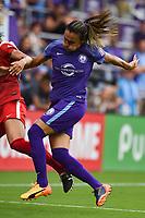 Orlando, FL - Saturday April 22, 2017: Marta Vieira Da Silva during a regular season National Women's Soccer League (NWSL) match between the Orlando Pride and the Washington Spirit at Orlando City Stadium.