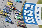 Monster Energy NASCAR Cup Series<br /> Alabama 500<br /> Talladega Superspeedway<br /> Talladega, AL USA<br /> Sunday 15 October 2017<br /> Erik Jones, Furniture Row Racing, 5-hour ENERGY Extra Strength Toyota Camry and Chase Elliott, Hendrick Motorsports, NAPA Chevrolet SS<br /> World Copyright: Nigel Kinrade<br /> LAT Images