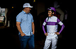 JULY 24, 2021: Matt Nakatani and Mario Gutierrez at Del Mar Fairgrounds in Del Mar, California on July 24, 2021. Evers/Eclipse Sportswire/CSM