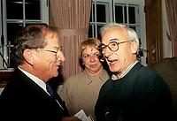 Jean Lapointe et Yvon Deschamps, Oct 1992<br /> <br /> PHOTO D'ARCHIVE : Agence Quebec Presse