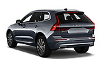Car pictures of rear three quarter view of 2020 Volvo XC60 Inscription 5 Door SUV Angular Rear