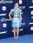 """Willow Shields attends The World Premiere of Disney's """"Maleficent"""" held at The El Capitan Theatre in Hollywood, California on May 28,2014                                                                               © 2014 Hollywood Press Agency"""