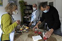 PROGETTO ARCA<br /> Il cohousing di Casa Arca di Roma.<br /> La colazione del mattino