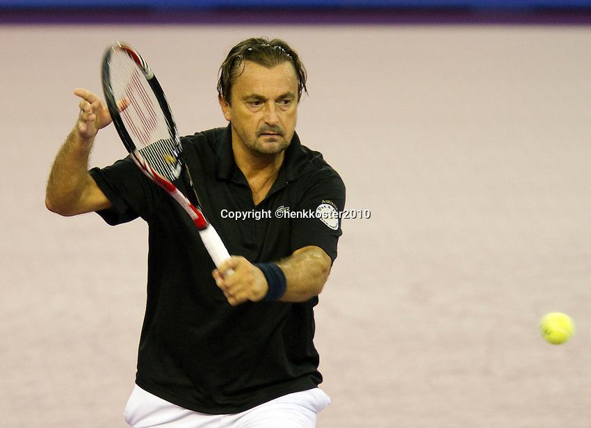 30-09-10, Eindhoven, Tennis, Afas Tennis Classics 2010,    Henri Leconte