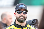 Sprint Cup Series driver Paul Menard (27) in action before the NASCAR AAA Texas 500 race at Texas Motor Speedway in Fort Worth,Texas.