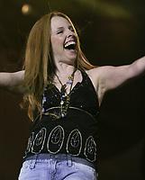 France d'Amour performs at the Saint-Jean-Baptiste show on the Plains of Abraham Thursday June 23, 2005.