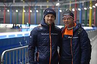 SPEEDSKATING: 05-12-2018, Tomaszów Mazowiecki (POL), ISU World Cup Arena Lodowa, Jesper en Henk Hospes, ©photo Martin de Jong
