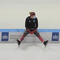 SCHAATSEN: HEERENVEEN: 13-01-2021, IJsstadion Thialf, Speed Skating training, Team Canada, Ted-Jan Bloemen, ©Photo Martin de Jong