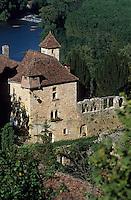 Europe/France/Midi-Pyrénées/46/Lot/Vallée du Lot/Saint-Cirq-Lapopie: Maison musée Rignault (XV ème siècle)