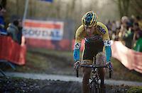 Tom Meeusen (BEL/Telenet-Fidea)<br /> <br /> CX Leuven Soudal Classic 2015