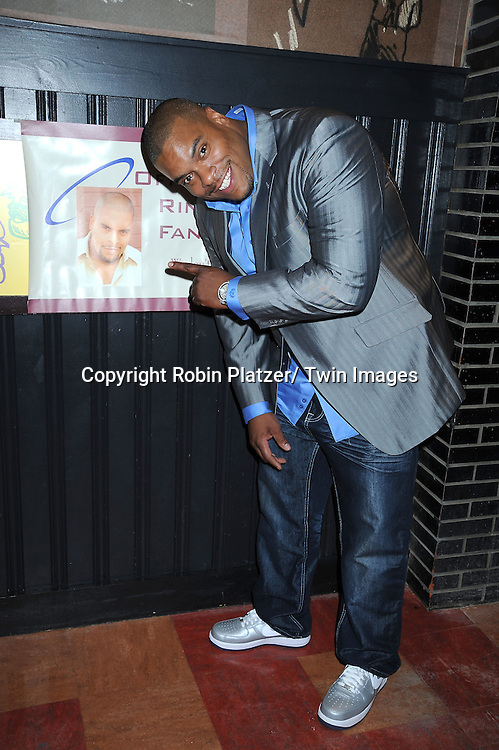 Sean Ringgold, actor on One Life To Live attending Sean Ringgold's  Fan Club Dinner on October 8, 2010 at HB Burger in New YOrk City.