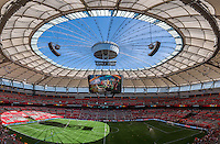 June 21, 2015: during a round of 16 match between Canada and Switzerland at the FIFA Women's World Cup Canada 2015 at BC Place Stadium on 21 June 2015 in Vancouver, Canada. Canada won 1-0. Sydney Low/Asteriskimages.com