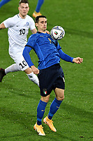 Kevin Lasagna of Italy in action during the friendly football match between Italy and Estonia at Artemio Franchi Stadium in Firenze (Italy), November, 11th 2020. Photo Andrea Staccioli/ Insidefoto