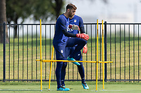 FRISCO, TX - JULY 20: Matt Turner Field Activation during a training session at Toyota Soccer Center FC Dallas on July 20, 2021 in Frisco, Texas.