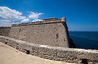 Cuba, Castillo de los tres Reyes del Morro  in Habana-Casblanca