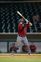AZL Diamondbacks catcher Jose Herrera (23) at bat against the AZL Cubs on August 11, 2017 at Sloan Park in Mesa, Arizona. AZL Cubs defeated the AZL Diamondbacks 7-3. (Zachary Lucy/Four Seam Images)