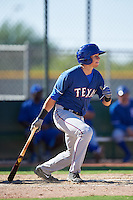 Texas Rangers Kole Enright (78) during an Instructional League game against the Kansas City Royals on October 4, 2016 at the Surprise Stadium Complex in Surprise, Arizona.  (Mike Janes/Four Seam Images)